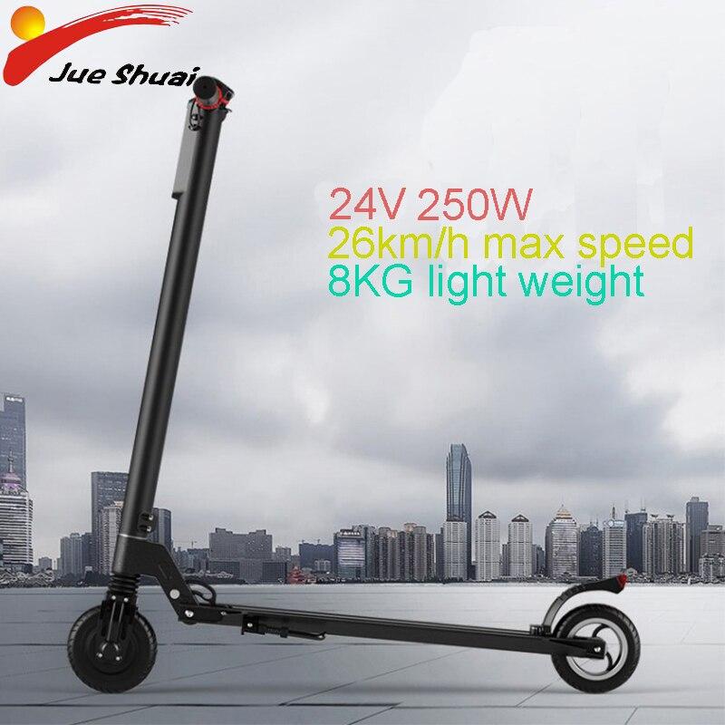 5.5 ''mini 24V 5.5ah Bateria De Lítio Scooter Elétrico Dobrável Adulto Placas Longas E Scooter ebike Hoverboard Skate Elétrico