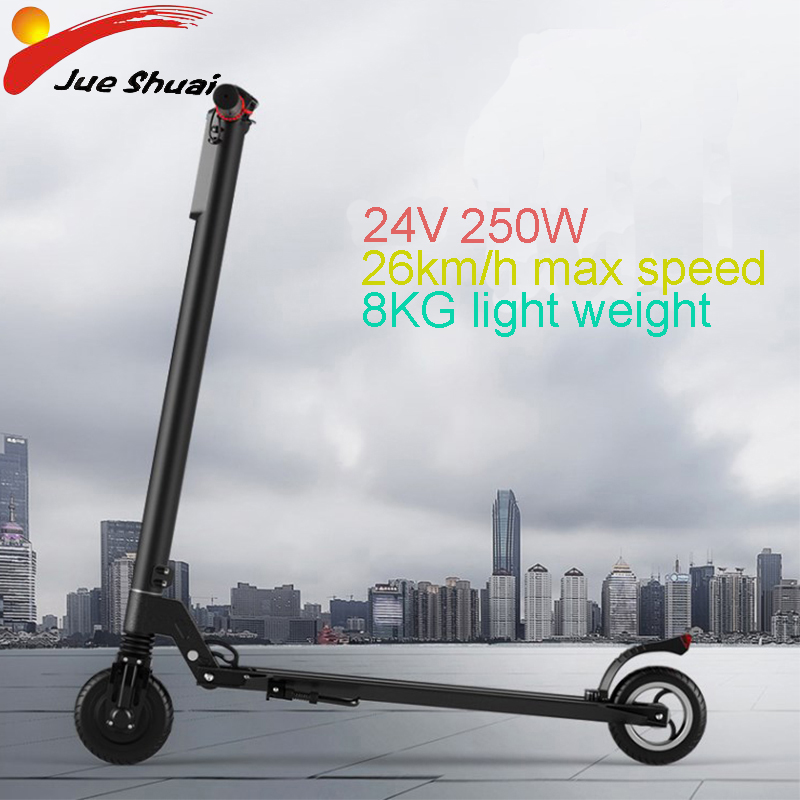 5.5''mini Electric Scooter 24V 5.5ah Lithium Battery Foldable Adulto Long Boards E Scooter Hoverboard Electric Skateboard ebike