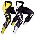 Новые беговые трико, мужские компрессионные штаны, футбольные, фитнес, спортивные Леггинсы, штаны для бега в тренажерном зале, быстросохнущ...