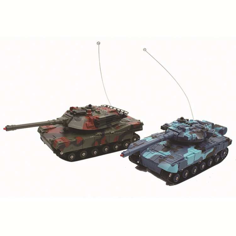 Vibration Into 333-TK11A Hot Sales Double Battle Tank Remote-control Automobile Small CHILDREN'S Toy Car