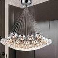 Итальянский стиль  современный промышленный светодиодный подвесной светильник  стеклянные оттенки G4  лобби  отели  ресторан  подвесные лам...