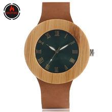 Часы redfire женские из натурального бамбукового дерева ВИНТАЖНЫЕ