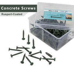 Flat Head Phillips Ruspert-Coated high-low thread Self Drilling Concrete Screws security screws Wood Screws Woodworking