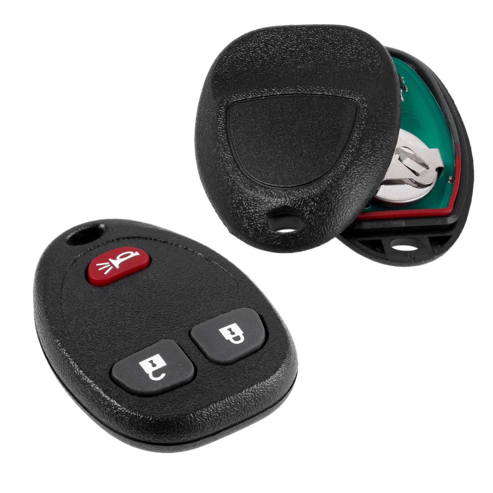 Replacement For Chevy 2006-2011 HHR Uplander Remote Start Car Key Fob 3 Button