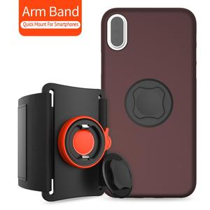 Image 2 - Phone Running Armband,Sport Exercise Armband with Quick Installation for iPhone 11 Pro Max/11 Pro/11/XR/XS Max/8/8 Plus/7/7 Plus