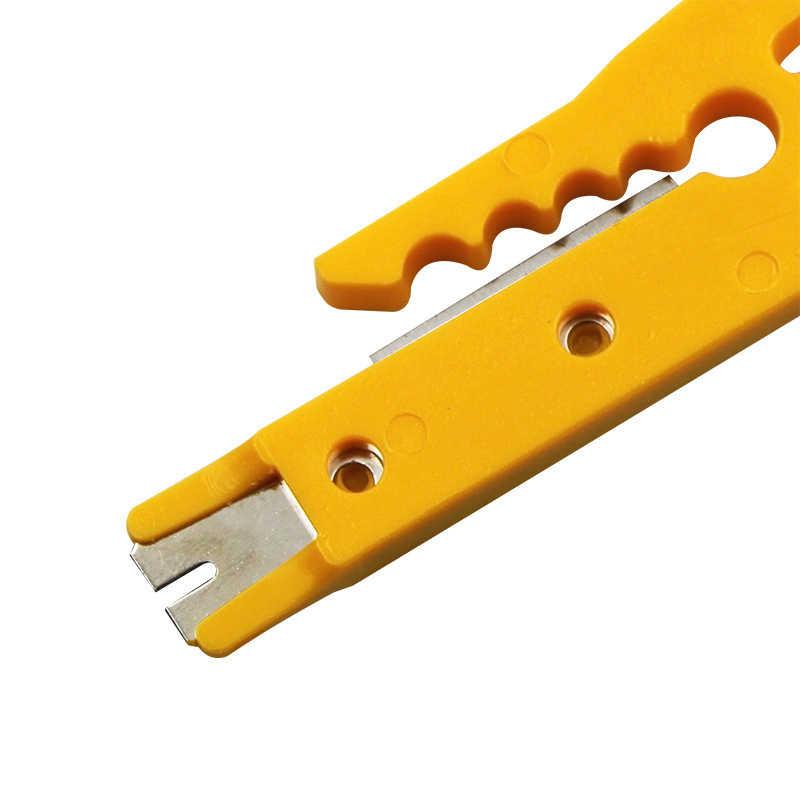 1Pc Crimper Cable Cutter automatyczne szczypce do zdejmowania izolacji wielofunkcyjny nóż do zdejmowania izolacji narzędzia do zdejmowania izolacji szczypce do zaciskania narzędzi ręcznych