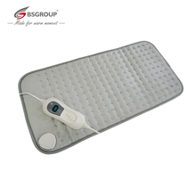 Extra Xl King Size 30*60Cm 220V 240V 100W Ultrasone Elektrische Verwarming Pad Voor maag Taille Rugpijn Relief Body Warmer Eu Plug