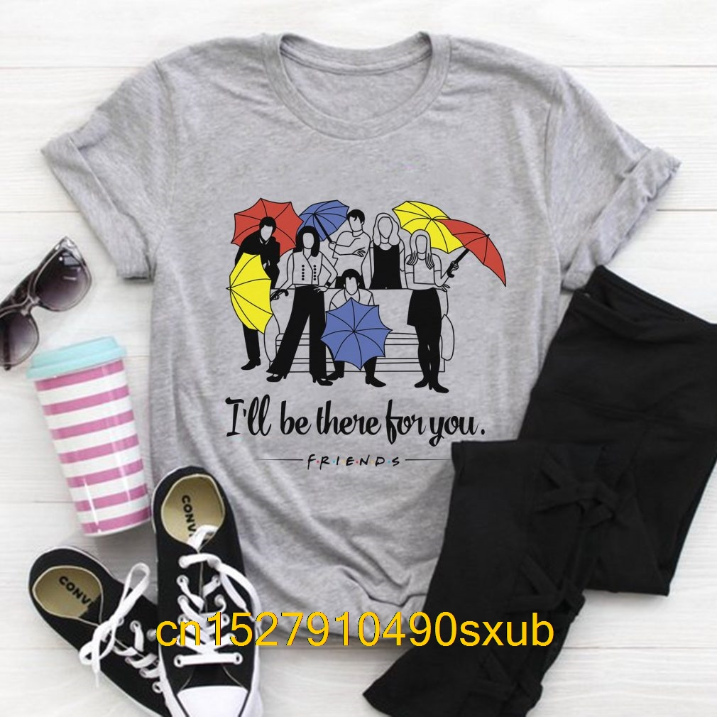 New Summer Men's Casual Print T-Shirt Fashion T-shirt I'll Be There For You Friends Shirt