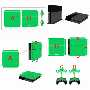Image 5 - Galaxy Stars Vinyl Stickers Voor Sony Playstation 4 Console & 2 Controller Skin Voor PS4 Stickers Cover