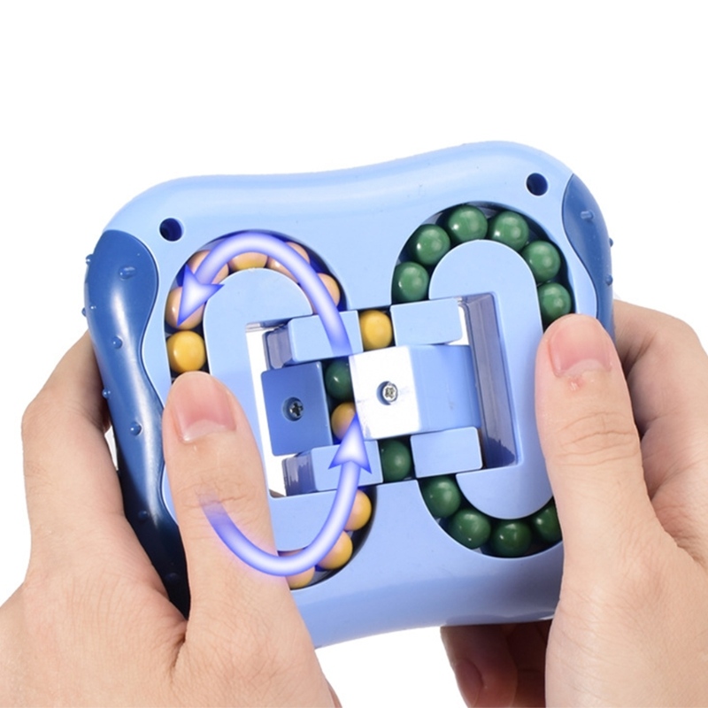 Rotating Magic Bean Fingertip Toy Creative Stress Relief Educational Toys D0JC img3