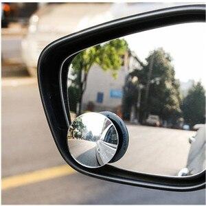 Image 4 - 360 고화질 블라인드 스팟 미러 자동차 역방향 Frameless 광각 둥근 볼록 백미러 자동차 부품