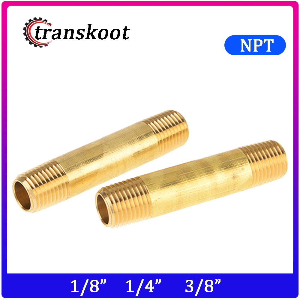 "3/"" Long Qty 25 Pipe Size 1//8/"" Brass Fittings: Pipe Nipples"