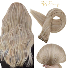 VeSunny Hair Weft Bundles Human Hair Extensions Straight Sew In Hair Extensions Double