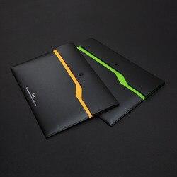 6 sztuk/zestaw Xiaomi Youpin Fizz zgłoszenia produktu A4 uchwyt na dokumenty organizator 2 warstwy aktówka walizka biznesowa biuro 6