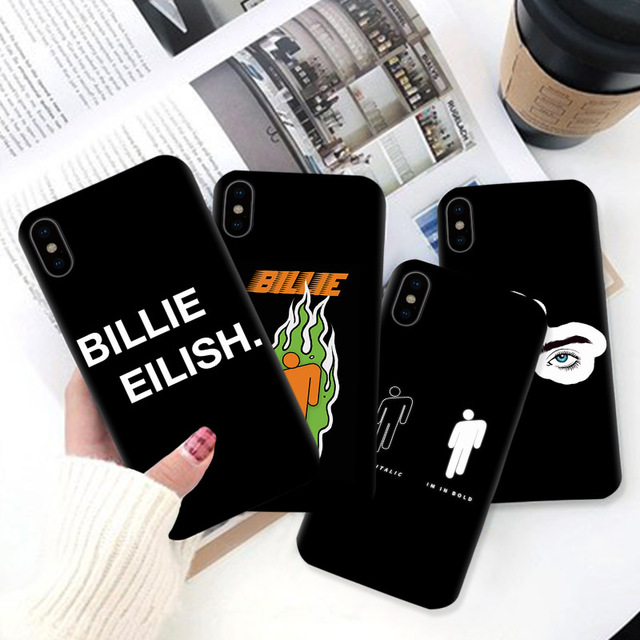 BILLIE EILISH IPHONE CASE (5 VARIAN)