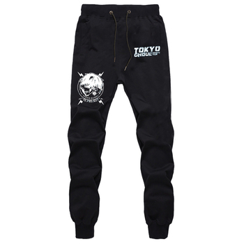 Anime Tokyo Ghoul Kaneki Ken Pants Men Casual Trousers Joggers Bodybuilding Fitness Pants Autumn Winter Sweatpants Plus Size недорого