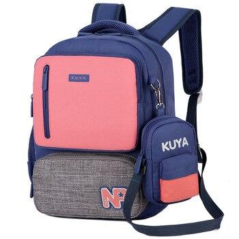 цена на 2019 kids School Bag for Girl Boy Children schoo backpack Orthopedic backpack Schoolbag Cheap Back Pack Kids Backpack sac enfant