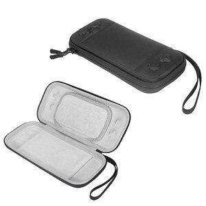 Image 2 - 닌텐도 스위치 라이트에 대 한 휴대용 슬림 케이스 스토리지 가방 콘솔 액세서리 여행 운반 케이스 파우치 Shockproof 가방