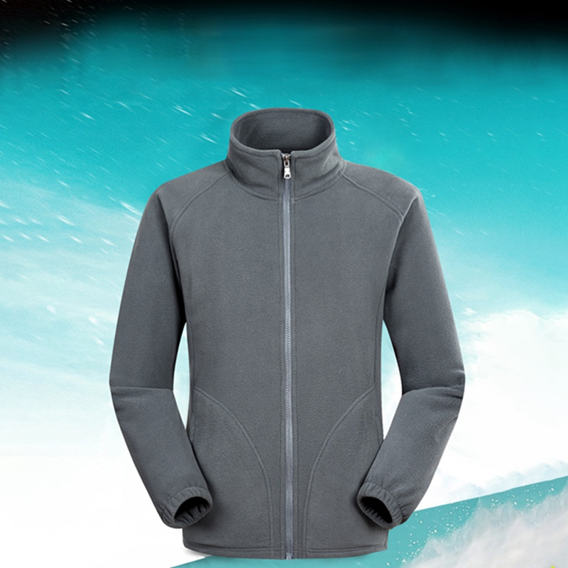 Men Ski Outdoor Sport Polar Fleece Jacket Winter Thermal Coats Full Zip Jacket Camping Hiking Overcoat 2019 men clothing
