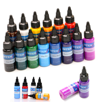 tattoo artist ink set 14 dynamic basic color set permanent makeup tattoo ink color pigment tattoo & body art