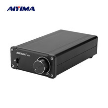 Aiyima tpa3251 amplificador de áudio digital amplificador de potência alta fidelidade 2.0 casa mini professional amp ne5532 175w * 2 super tda7498e/tpa3116