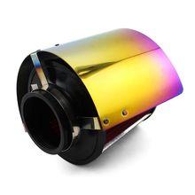 Escudo térmico da cobertura do filtro de ar do cone da entrada de ar frio do carro de corrida para 2.5 3.5 neck 2pescoço 270e