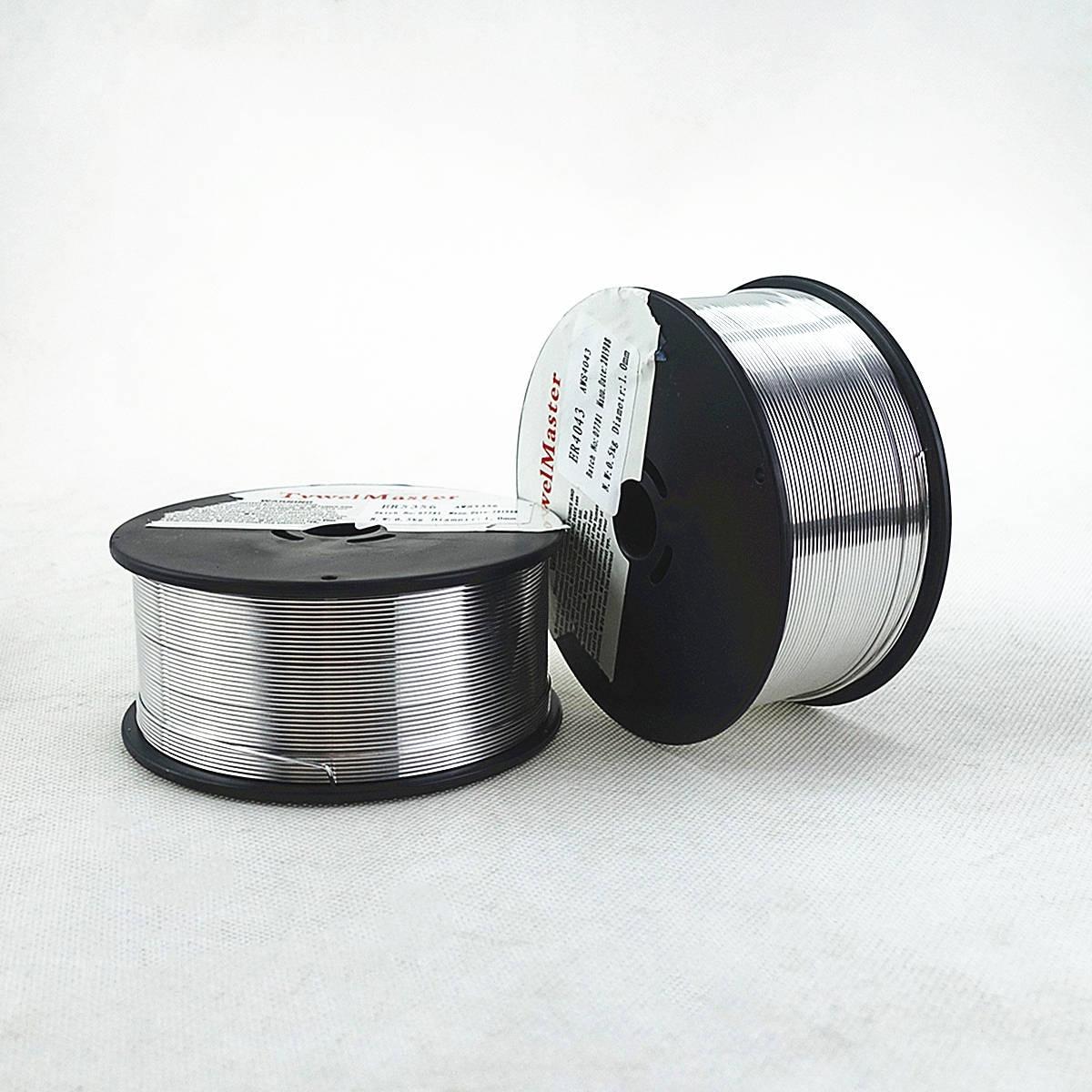 Fil à souder en aluminium, ER4043 ER5356, 0.5/0.8/1.0mm, Mini bobine à bouclier gaz, alliage d'aluminium, fil à souder MIG