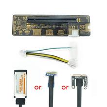 Pci-e exp gdc placa de vídeo portátil externo doca placa gráfica portátil docking station (mini pci-e/ngff/interface expresscard)