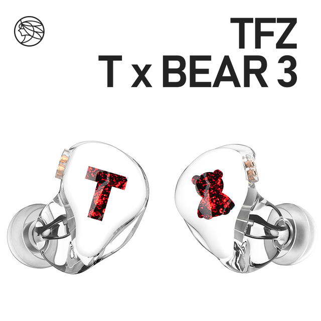 TFZ/Tx Bear 3,Monitor Earphones HIFI Headset with High Quality Tri-Motion Iron Music 1