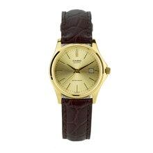 Оптическими зумом Casio часы маленькие золотые часы модные простые элегантные часы LTP-1183Q-9A