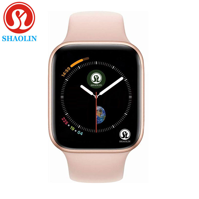 ROSE GOLD Smart Watch Series 4 Sport Smartwatch Clock for apple iphone 6 6s 7 8 X plus for samsung IOS Smart Watch honor3 xiaomi-in Smart Watches from Consumer Electronics    1