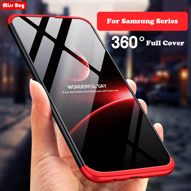 360 Full Body Cover Phone <font><b>Cases</b></font> For <font><b>Samsung</b></font> Galaxy A10 A20 A30 A40 A50 M10 M20 M30 S10 Lite S10 Plus A60 A80 A70 <font><b>Case</b></font> Protective image