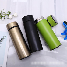 New mini 350ml stainless steel vacuum flask portable business simple office small straight cup