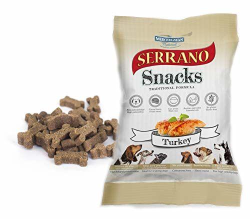 Mediterranean Natural–Snack For Dogs Serrano Pavo 100gr