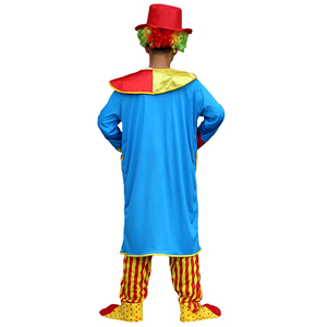 Image 2 - ליל כל הקדושים תלבושות גברים מצחיק קרקס שובב ארלקינו אחיד גברים תלבושות תחפושת קוספליי למבוגרים גברים נשים ליצן תלבושות