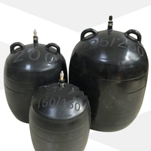 DN400 leakage testing Closed Water plugging airbag water shutoff gasbag bellow pot Pipe sealing leak test rubber bladder