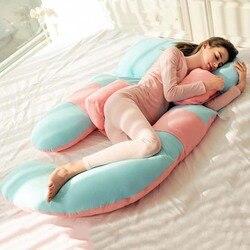 G Shape Maternity Pillow High Resilience Pregnancy Pillow Women Side Sleeping Support Pregnancy Cushion Women  Nursing Pillow 1P