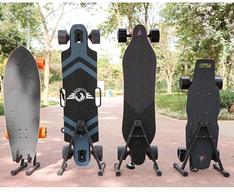 Складная Лыжная доска подставка держатель двойной snubby скейтборд длинная доска стеллаж для хранения
