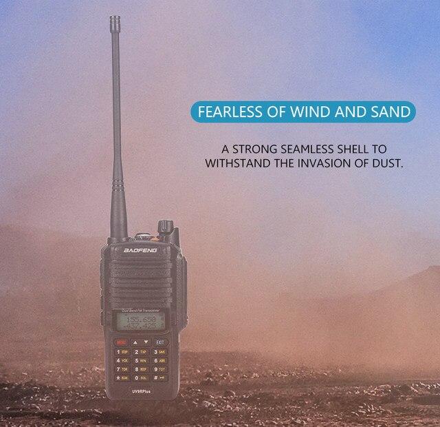2pcs 8000mah 10W Baofeng UV-9R plus waterproof walkie talkie for CB ham radio station 10 km two way radio uhf vhf mobile plus 9r (27)