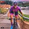 Kafit verão novo de manga curta triathlon esportes ciclismo macacão roupa ciclismo feminino macacão ir shorts terno 8