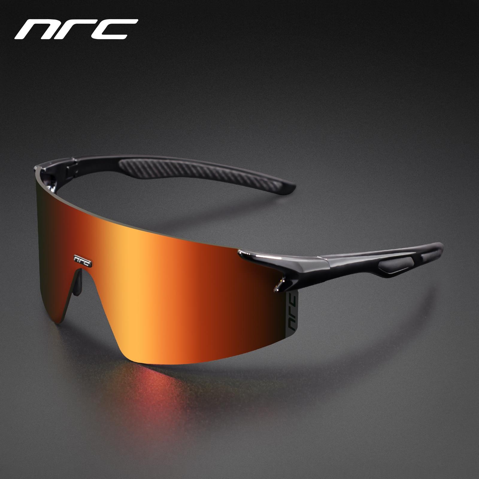 NRC 3 Lens UV400 occhiali da ciclismo TR90 sport occhiali da bicicletta MTB Mountain Bike pesca escursionismo equitazione occhiali per uomo donna 1