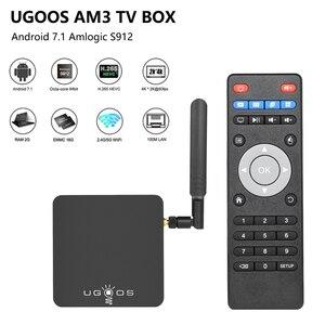 Image 5 - UGOOS AM6 AM3 akıllı Android9.0 TV kutusu Amlogic S922X 2GB 16GB 2.4G 5G WiFi TV kutusu 1000M LAN DLNA BT 5.0 4K HD medya oynatıcı