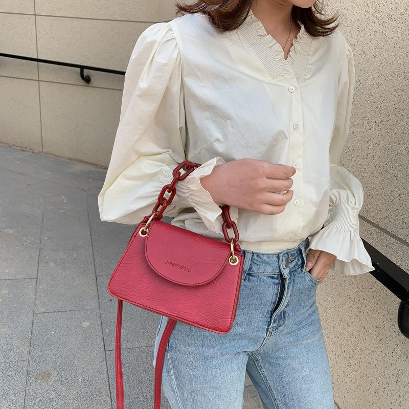 Mini Crossbody Bags For Women New Fashion Leather Small Clutch Bag Ladies Chain Shoulder Bag Purses And Handbags Bolsa Feminina