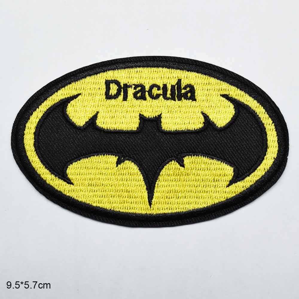 Vampir Dracula demir On işlemeli elbise giyim için yamalar çıkartmalar konfeksiyon giyim aksesuarları