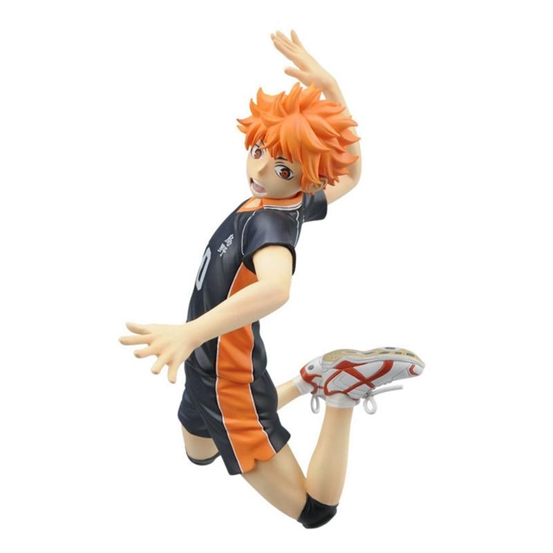 Image 2 - Anime Haikyuu Volleyball Athlete Hinata Syouyou Shoyo PVC Action Figure Collection Model Toys DollAction & Toy Figures   -