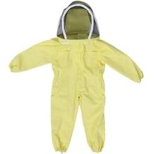 Профессиональный Детский защитный костюм для пчеловодства, оборудование для фермы, защитный костюм для пчеловодства L