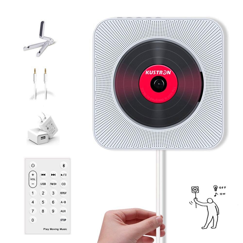Salut Fi lecteur Cd centre de musique maison système Audio acoustique mur haut-parleur Bluetooth son Boombox haut-parleur haut-parleur Soundbox sans fil