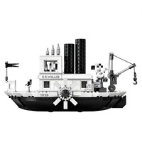 legoinglys Hot Sale Mickeied Steamboat Willie Set Model 16062 21317 Building Block Bricks toy for Gifts Kids Christmas