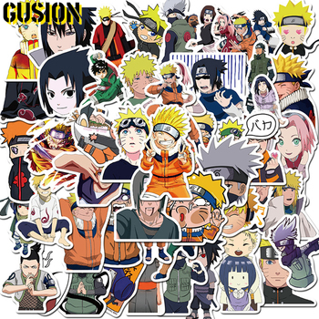 10/30/50pcs/Pack Cartoon NARUTO Anime Stickers Waterproof Skateboard Motorcycle Guitar Luggage Laptop Bicycle Sticker Kids Toys