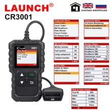 Lansmanı X431 CR3001 OBD2 OBDII otomatik kod okuyucu tarayıcı Creader 3001 araç teşhis aracı ile aynı Al419 PK ELM327 AD310 tarama aracı